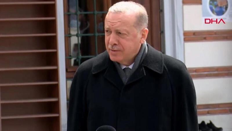 Cumhurbaşkanı Erdoğan'dan Dendias açıklaması: Dışişleri Bakanımız haddini bildirdi