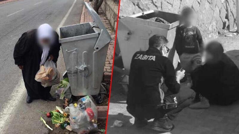 Görüntüler Kayseri'den... Dilencilerin rezidansta kaldığı tespit edildi
