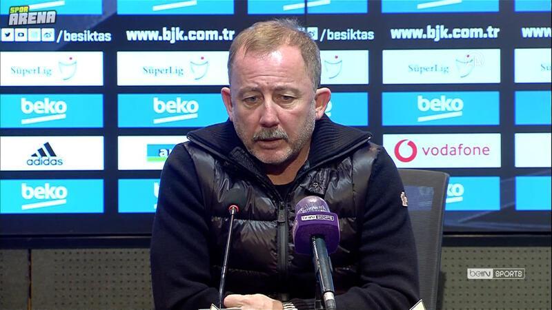 Beşiktaş - MKE Ankaragücü maçının ardından Sergen Yalçın açıklamalarda bulundu