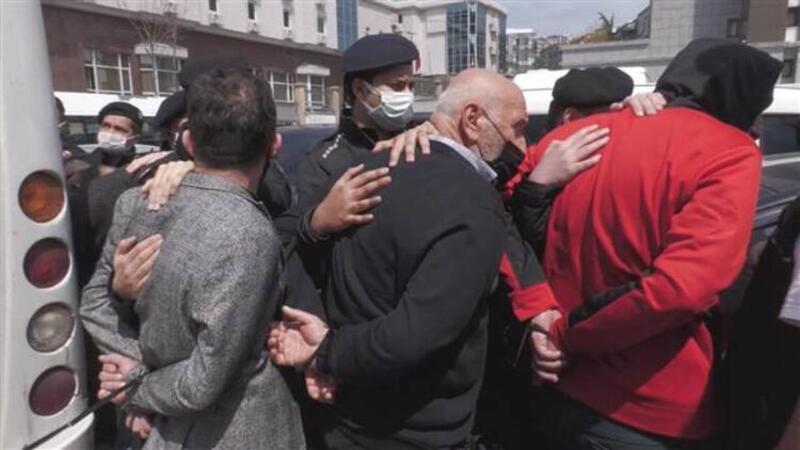 Sedat Peker grubuna yönelik operasyonda yakalanan 49 şüpheliden 10'u tutuklandı
