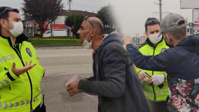 Sokağa çıkma kısıtlamasında uyuşturucuyla yakalandılar