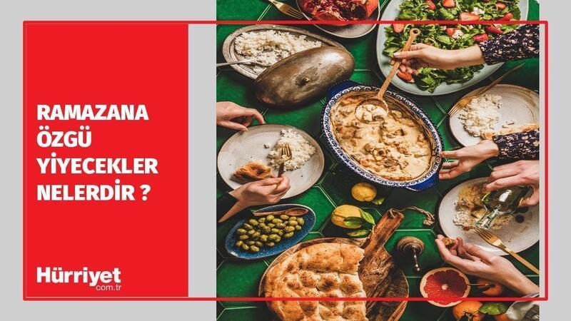 Ramazana Özgü Yiyecekler Nelerdir ? I Ramazan Medeniyeti #6