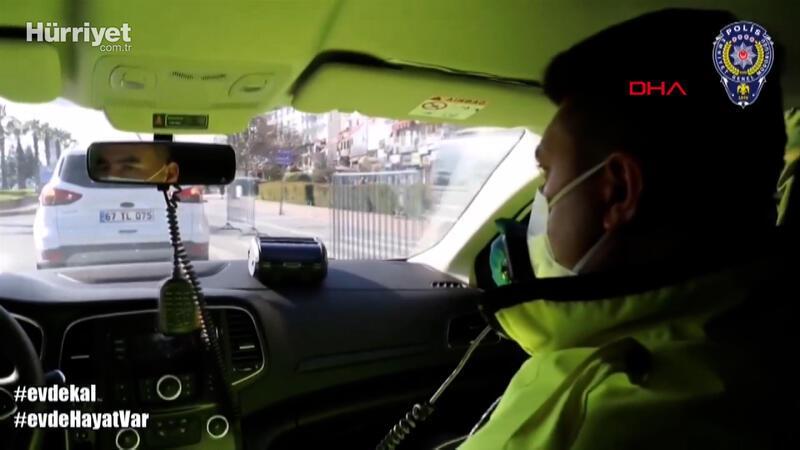 Koronavirüsten ölen trafik polisi halkı böyle uyarmıştı