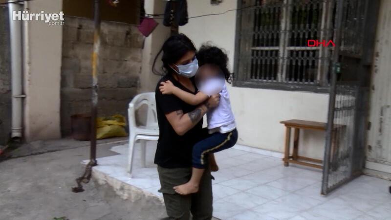Evin kapısını üzerine kilitlediği kızını itfaiye kurtardı; 'rezil oldum' dedi