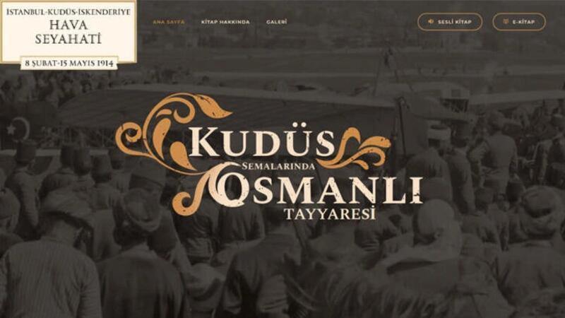 'İstanbul-Kudüs-İskenderiye Hava Seyahati kitabı, İletişim Başkanlığı tarafından duyuruldu