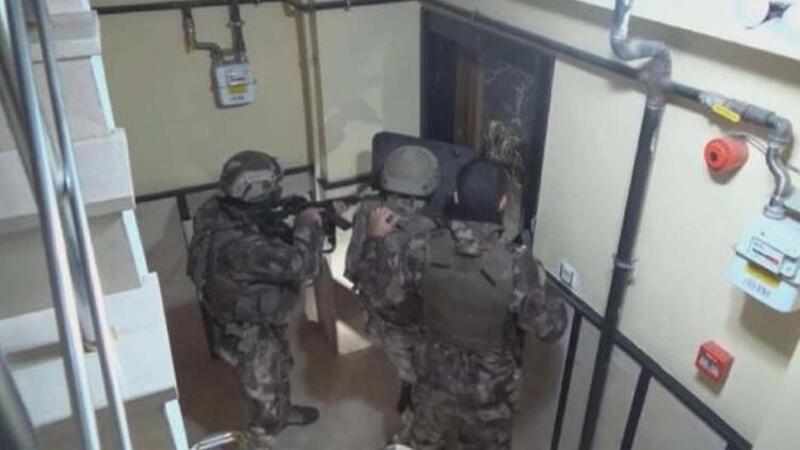 İstanbul'da MİT ve Emniyet'ten DEAŞ operasyonu