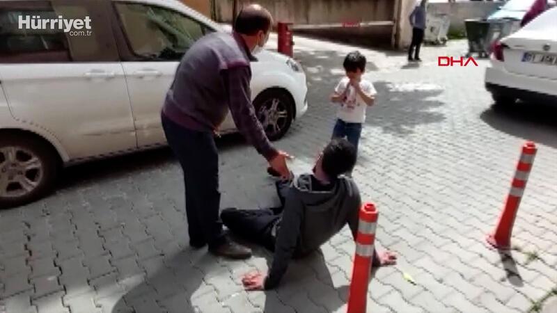 Televizyon ünitesinin altında kalan Muhammed öldü