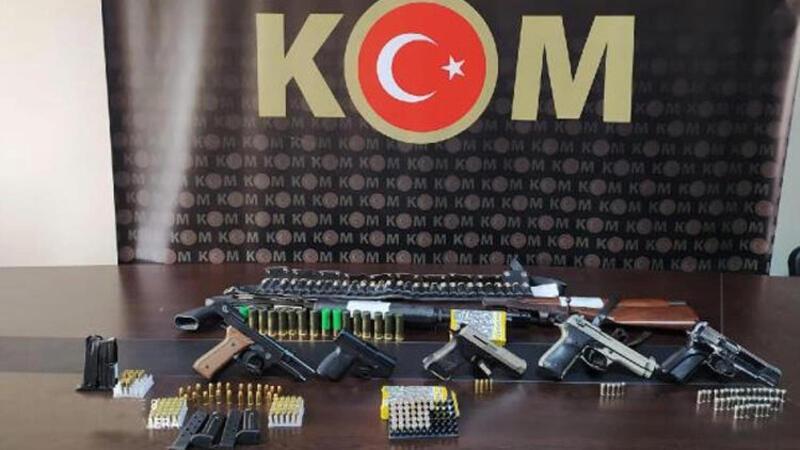 Mersin ve Adana'da silah kaçakçılığı operasyonu