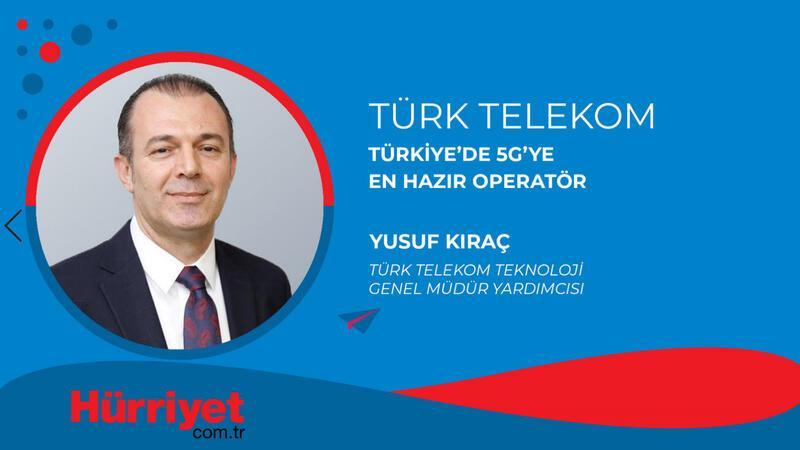 Türk Telekom, Türkiye'de 5G'ye en hazır operatör