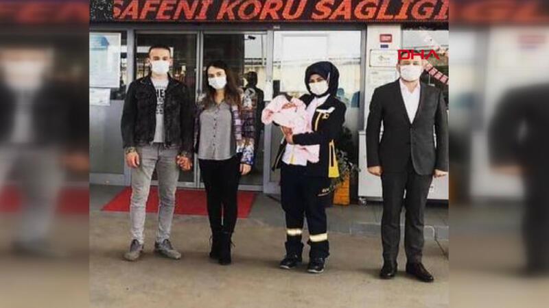 Sultanbeyli'de akaryakıt istasyonunda sürpriz doğum