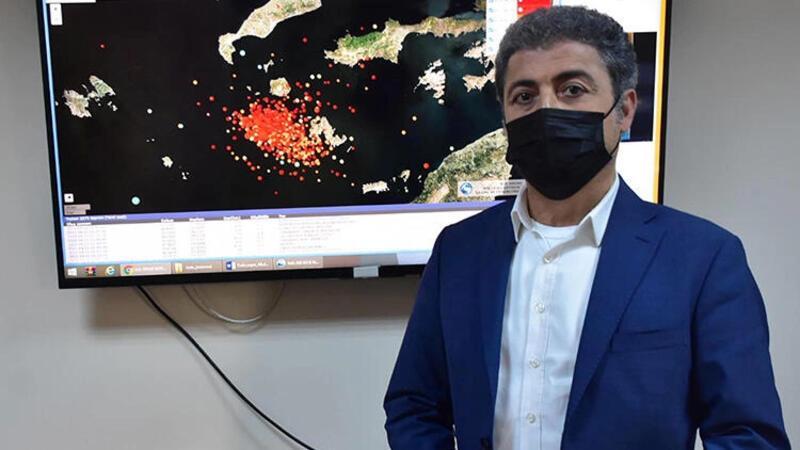 Prof. Dr. Sözbilir'den Datça'daki depremlere ilişkin açıklama