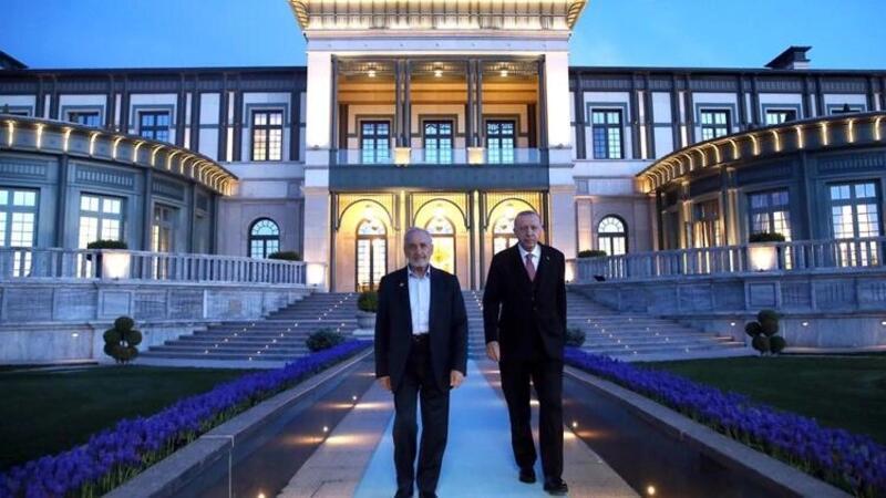Cumhurbaşkanı Erdoğan, SP Yüksek İstişare Kurulu Başkanı Asiltürk'le iftarda bir araya geldi