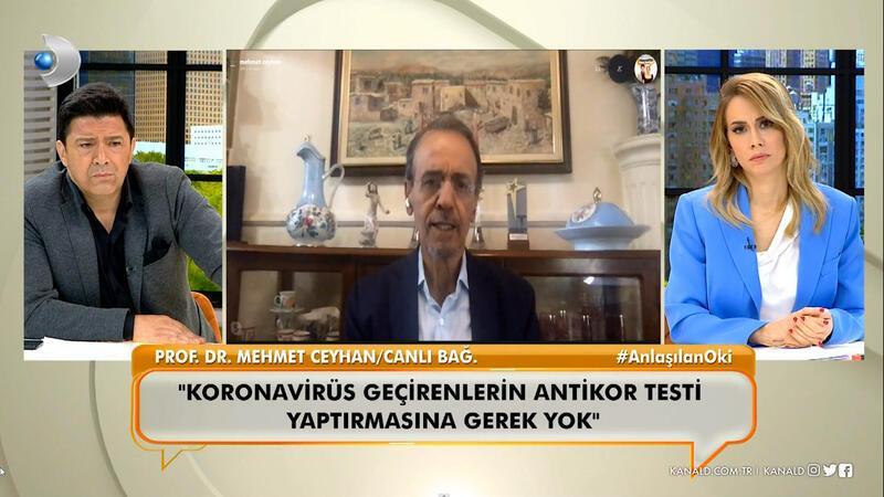 Prof. Dr. Mehmet Ceyhan, Neler Oluyor Hayatta'da Covid-19 mücadelesindeki son süreci anlattı.