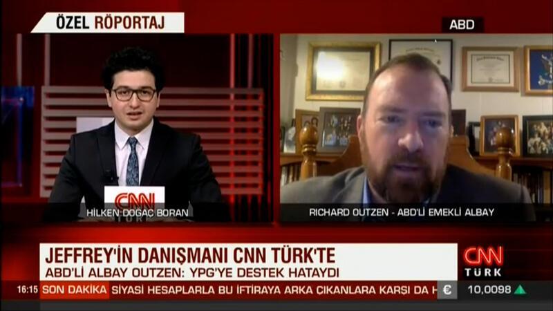James Jeffrey'in danışmanı CNN TÜRK'te