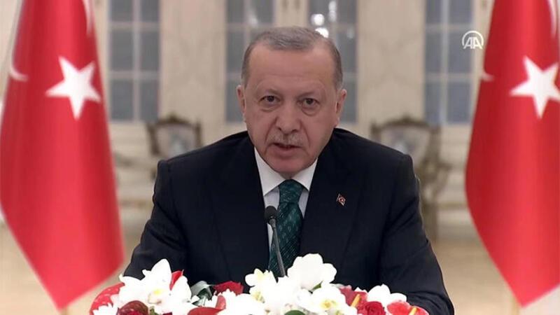 Cumhurbaşkanı Erdoğan, İklim Liderler Zirvesi'nde konuştu