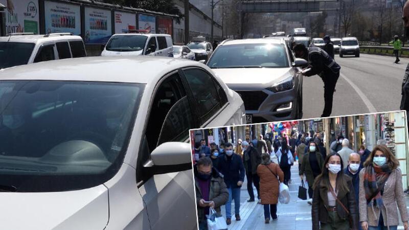 Trabzon'da kısıtlama öncesi mahalle ve yayladaki evlerine gidiyorlar