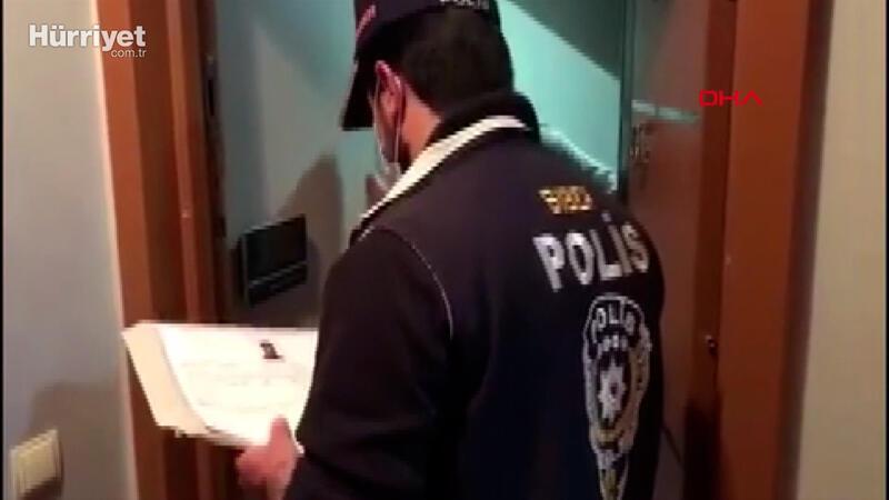 Kripto para dolandırıcılığı operasyonu polis kamerasında