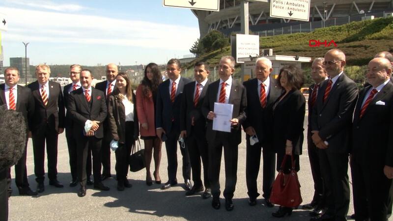 Metin Öztürk Galatasaray başkan adaylığı için resmi başvuruyu yaptı