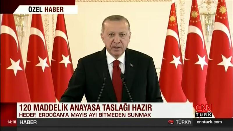 120 maddelik çalışma tamam, Erdoğan'a sunulacak