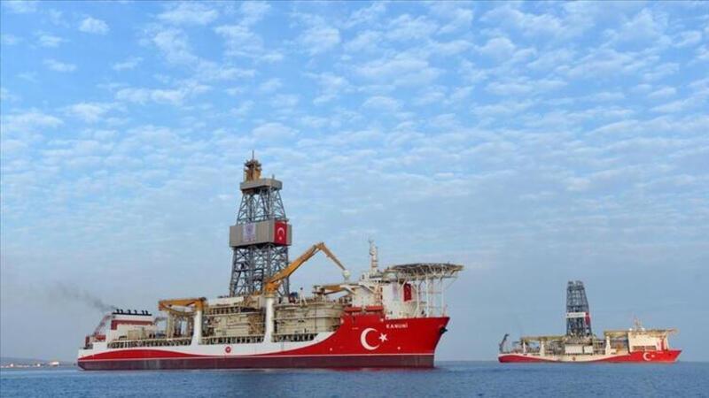 Kanuni Sondaj Gemisi Karadeniz'deki ilk görevi için demir aldı