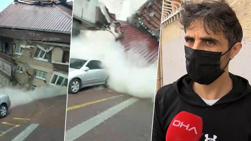Zeytinburnu'nda faciayı önleyen bisikletçi konuştu: Canını seven boşaltsın