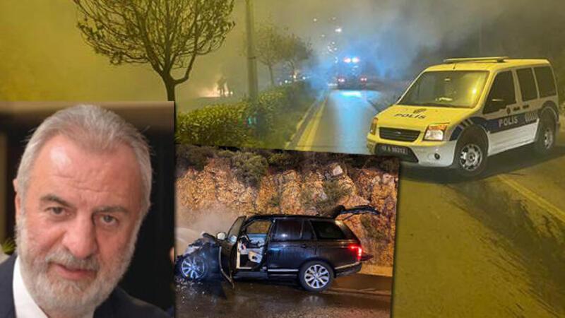 Bodrum'da eski milletvekilinin kullandığı cipte çıkan yangın söndürüldü