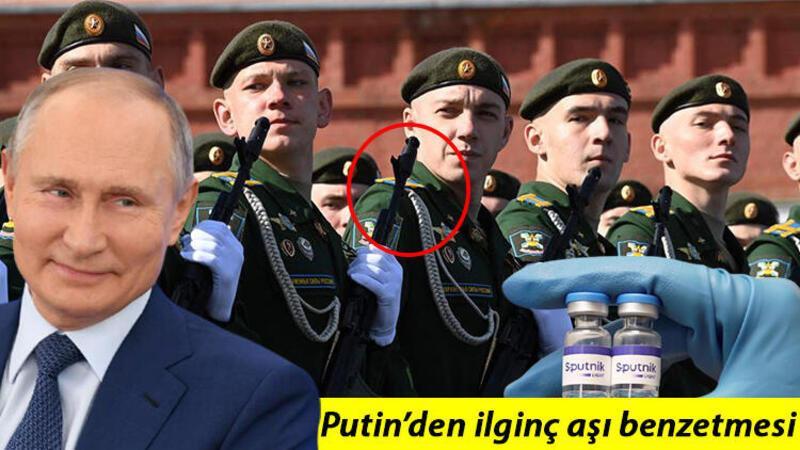 Putin'den Kalaşnikof benzetmeli Rus aşısı yorumu