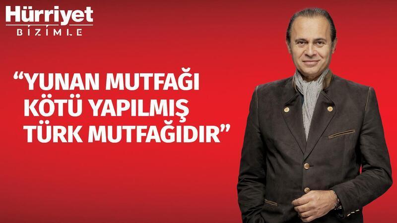 Ayhan Sicimoğlu ile gastronomi ve Türk mutfağı  | Hürriyet Bizimle #55