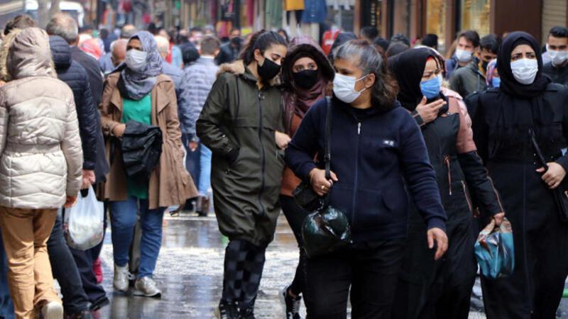 Gaziantep'te vaka oranları10 günde yüzde 50 azaldı