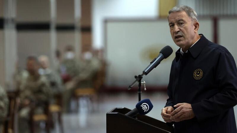 Milli Savunma Bakanı Hulusi Akar, açıklamalarda bulundu