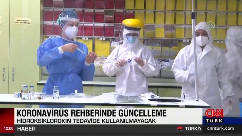 Koronavirüs rehberinde güncelleme