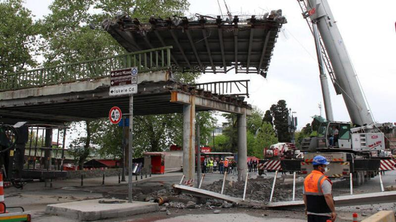 Beşiktaş Meydanı'ndaki varyant kaldırılıyor
