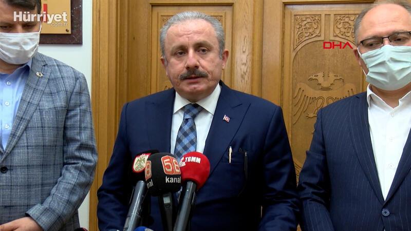 TBMM Başkanı Mustafa Şentop:Müslümanlara ibadet vakti saldırı vahşettir