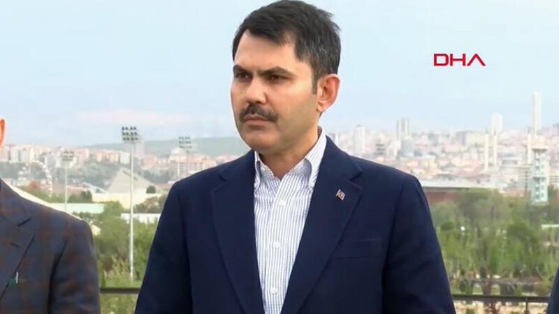 Çevre ve Şehircilik Bakanı Murat Kurum, açıklamalarda bulundu