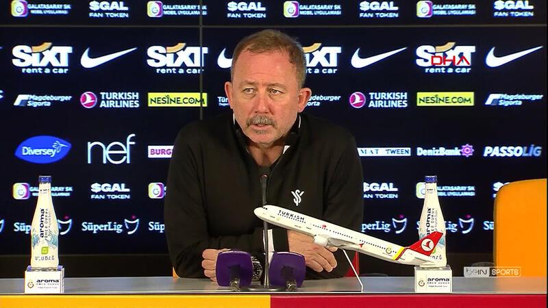 Sergen Yalçın: Bu maça takılıp kalamayız
