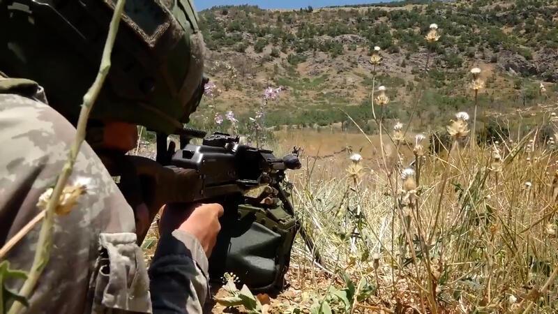 MSB paylaştı... 5 PKK'lı terörist etkisiz hale getirildi