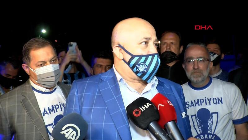 Adana Demirspor Başkanı Murat Sancak: Süper Lig'de kalıcı olacağız