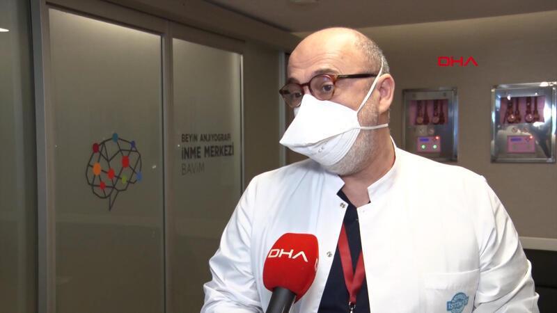 Prof. Dr. Yakup Krespi, koronavirüsle birlikte inme riskine dikkat çekti