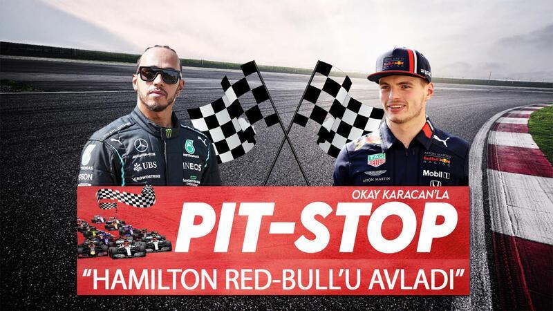 """Hamilton Red-Bull'u avladı, zafer pit duvarıyla geldi..."" | Pit-Stop"