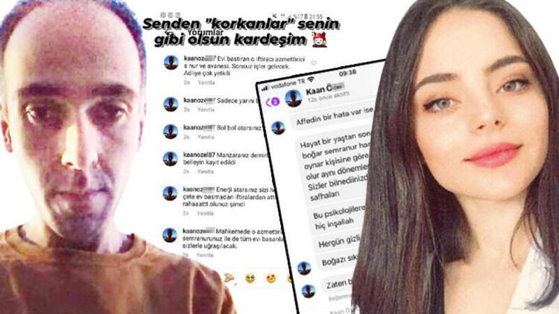 Genç kıza sosyal medyadan kâbusu yaşattı