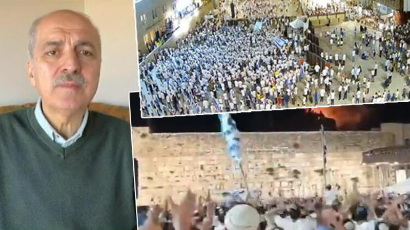 Numan Kurtulmuş'tan İsrail vahşetine sert tepki
