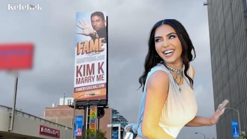 Kim Kardashian'a Sheeraz Hasan'dan evlilik teklifi