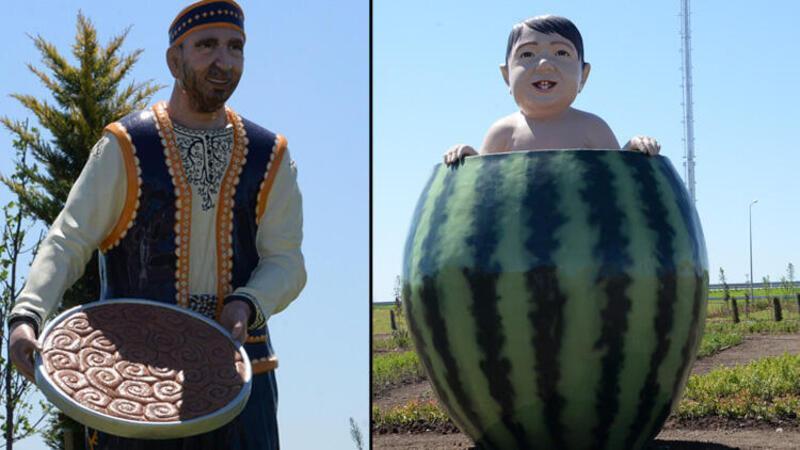 Diyarbakır'daki heykeller için açıklamalar