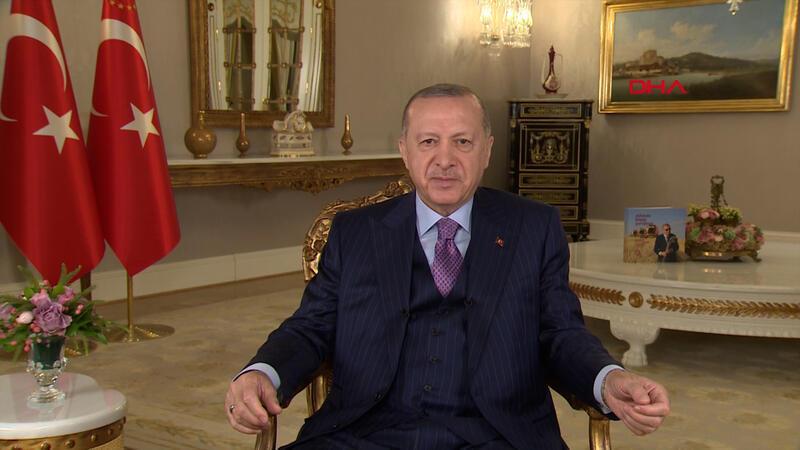 """Cumhurbaşkanı Erdoğan'dan """"Ramazan Bayramı"""" mesajı"""