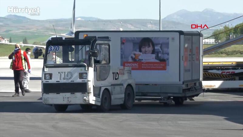 Sinovac firmasının CoronaVac aşısının yeni partisi Türkiye'de