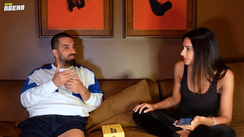 Arda Turan, eşi Aslıhan Doğan Turan'ın kanalına konuştu