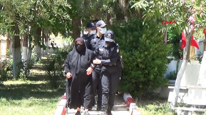 Şehit oğlunun kabrine meslektaşı polisler götürdü