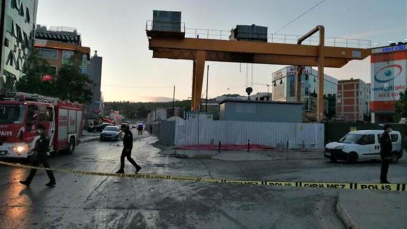 Pendik'te metro inşaatında patlama