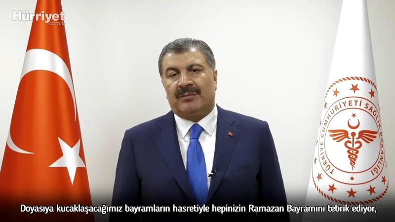 Bakan Koca'dan videolu Ramazan Bayramı mesajı