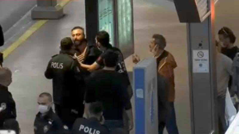 Son dakika: İstanbul'da metrobüste rehine krizi
